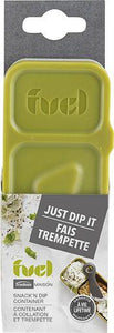 Fuel Snack 'N' Dip, 148 ml + 59 ml - SmartServe Houseware