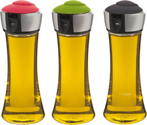 Trudeau Pop Oil Or Vinegar Bottle, Set Of 3, 200 ml