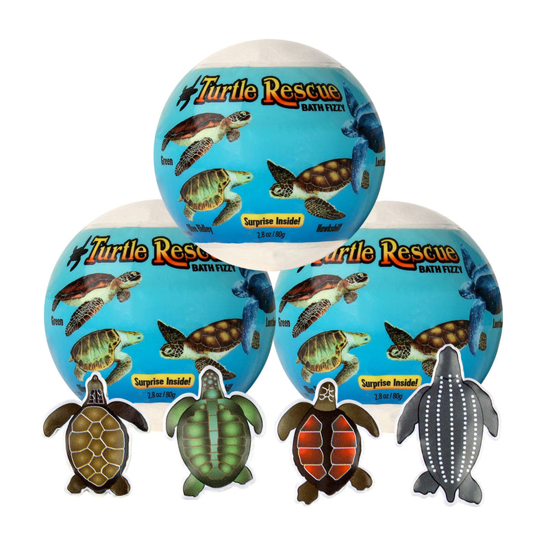 Good Clean Fun Turtle Rescue Egg 3pc