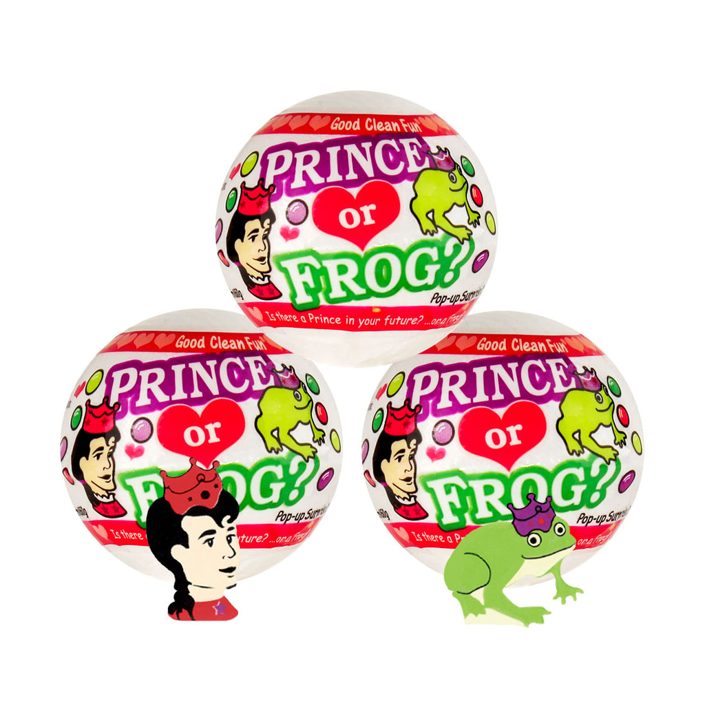 Good Clean Fun Prince Frog Fizzie 3pc