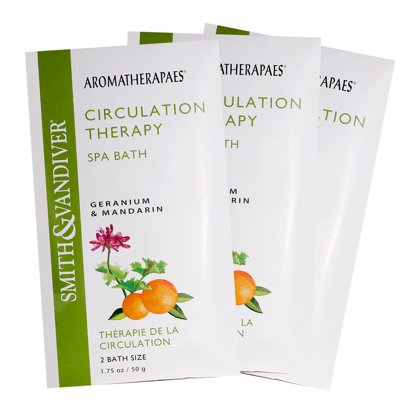 Aromatherapaes Spa Bath Circulation Therapy 3pc