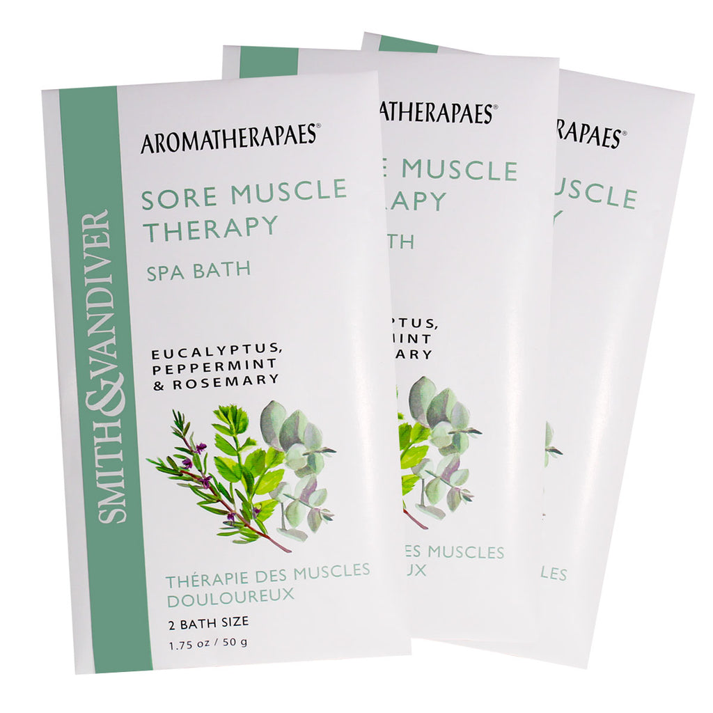 Aromatherapaes Spa Bath Sore Muscle 3pc
