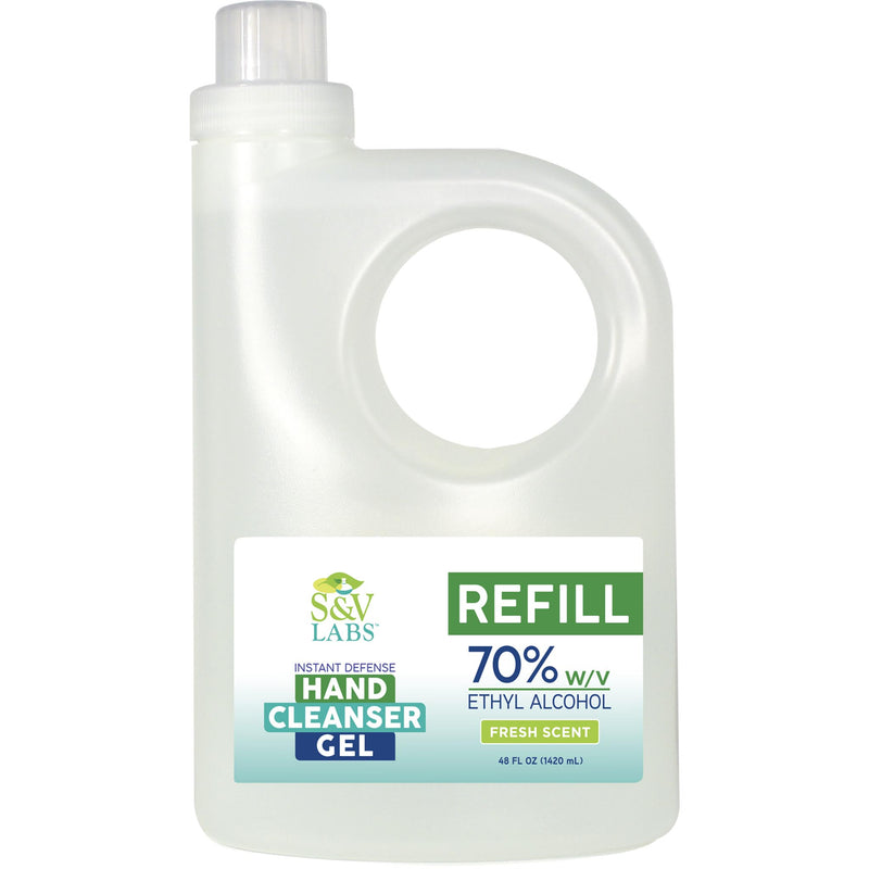 Instant Hand Cleanser Fresh Scent 48oz Refill