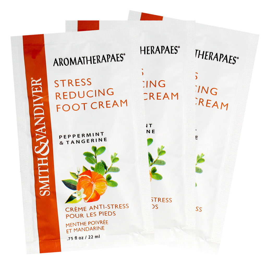 Aromatherapaes Stress Reducing Foot Cream 3pc
