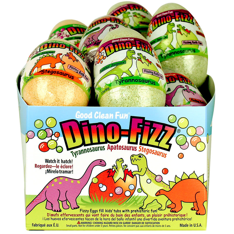 Good Clean Fun Dino Fizz 12pc