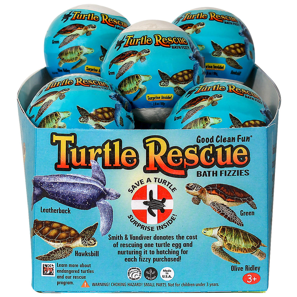 Good Clean Fun Turtle Rescue Egg 12pc