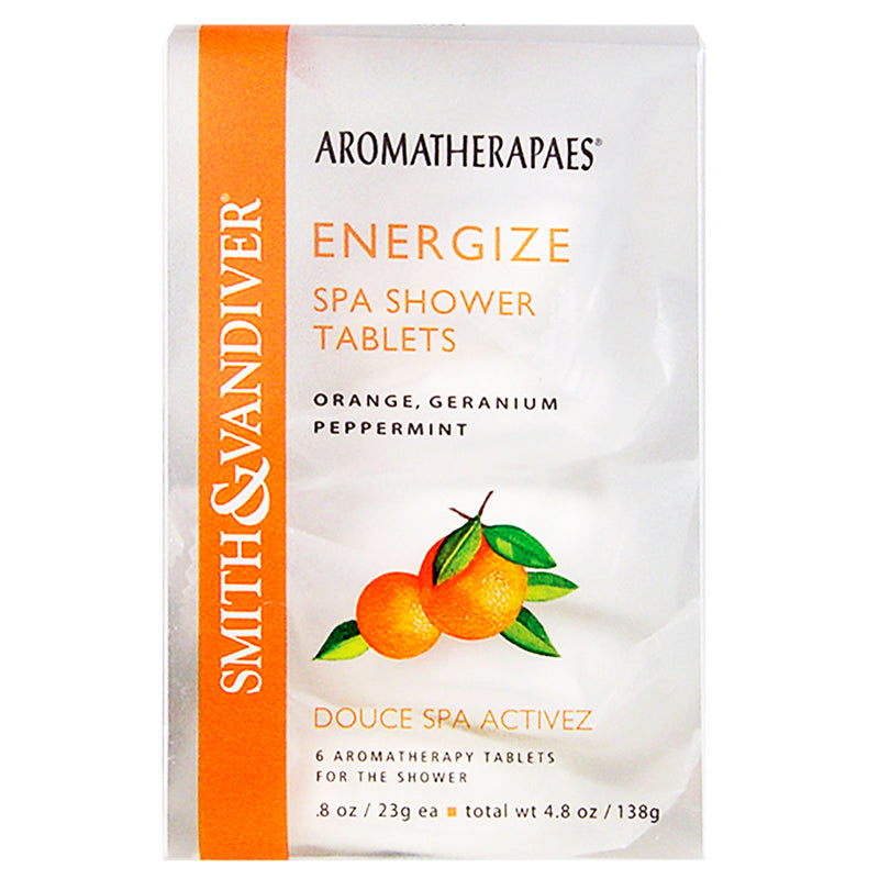 Aromatherapaes Energize Spa Shower Tablets
