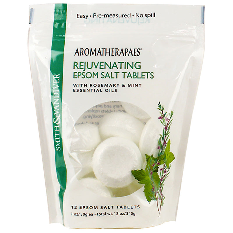 Aromatherapaes Epsom Salt Tablets Rejuvenating Pouch
