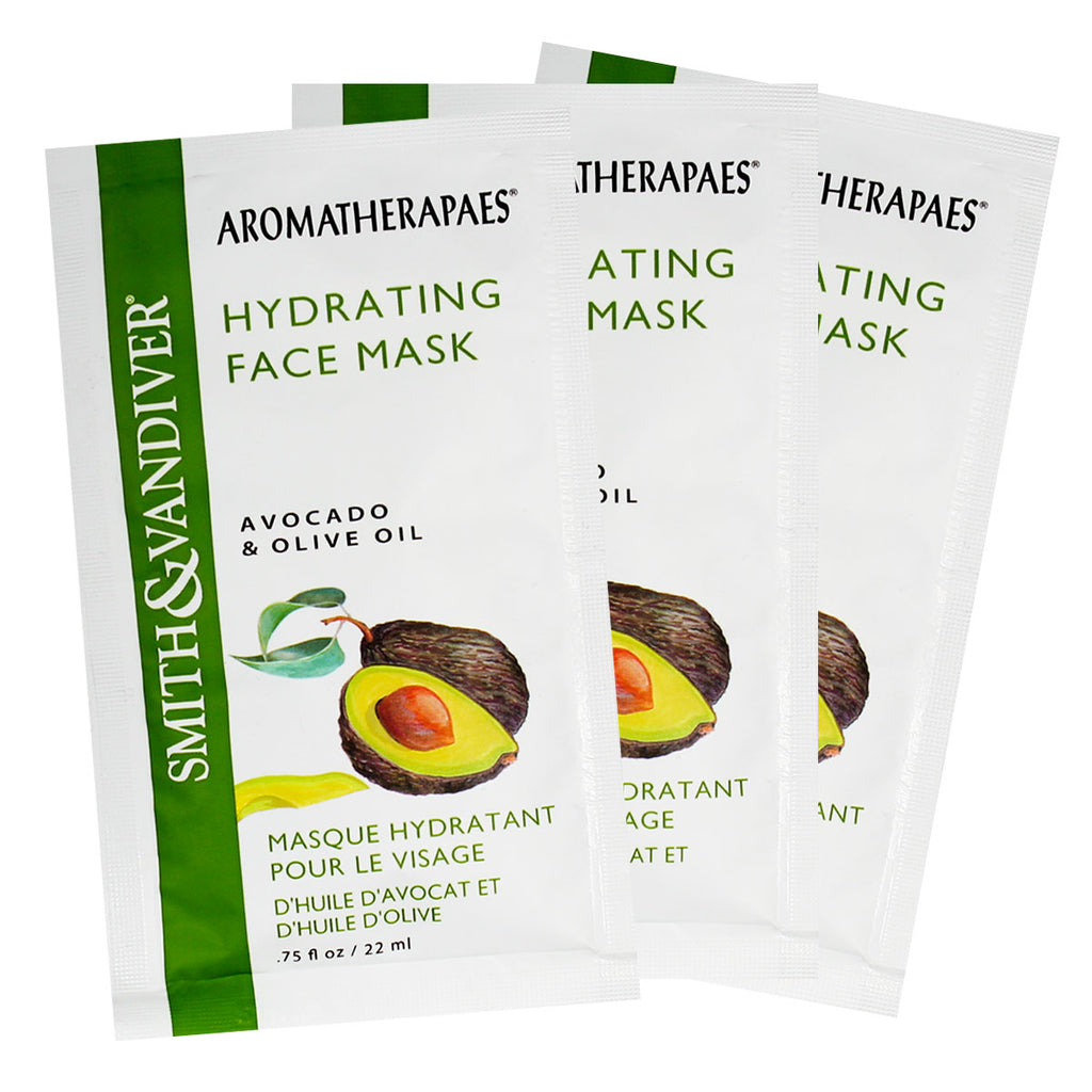 Aromatherapaes Hydrating Face Mask 3pc