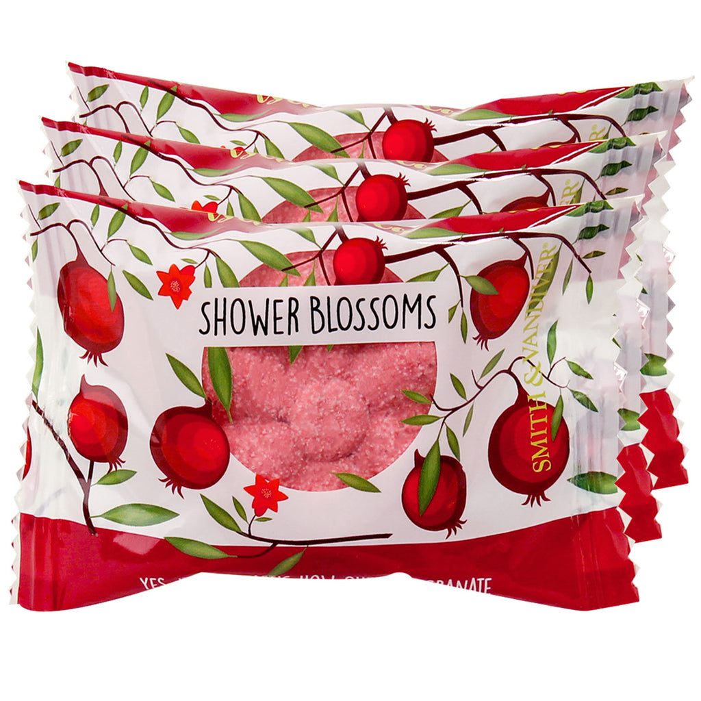 S&V Shower Blossom Pomtastic Pomegranate 3pc
