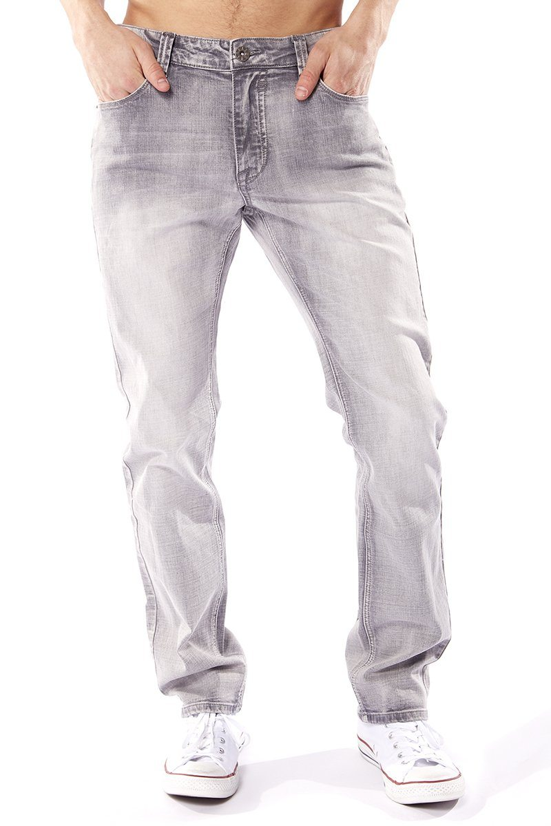 5 Pocket Straight Fit Jean (BH-3035-FLG)