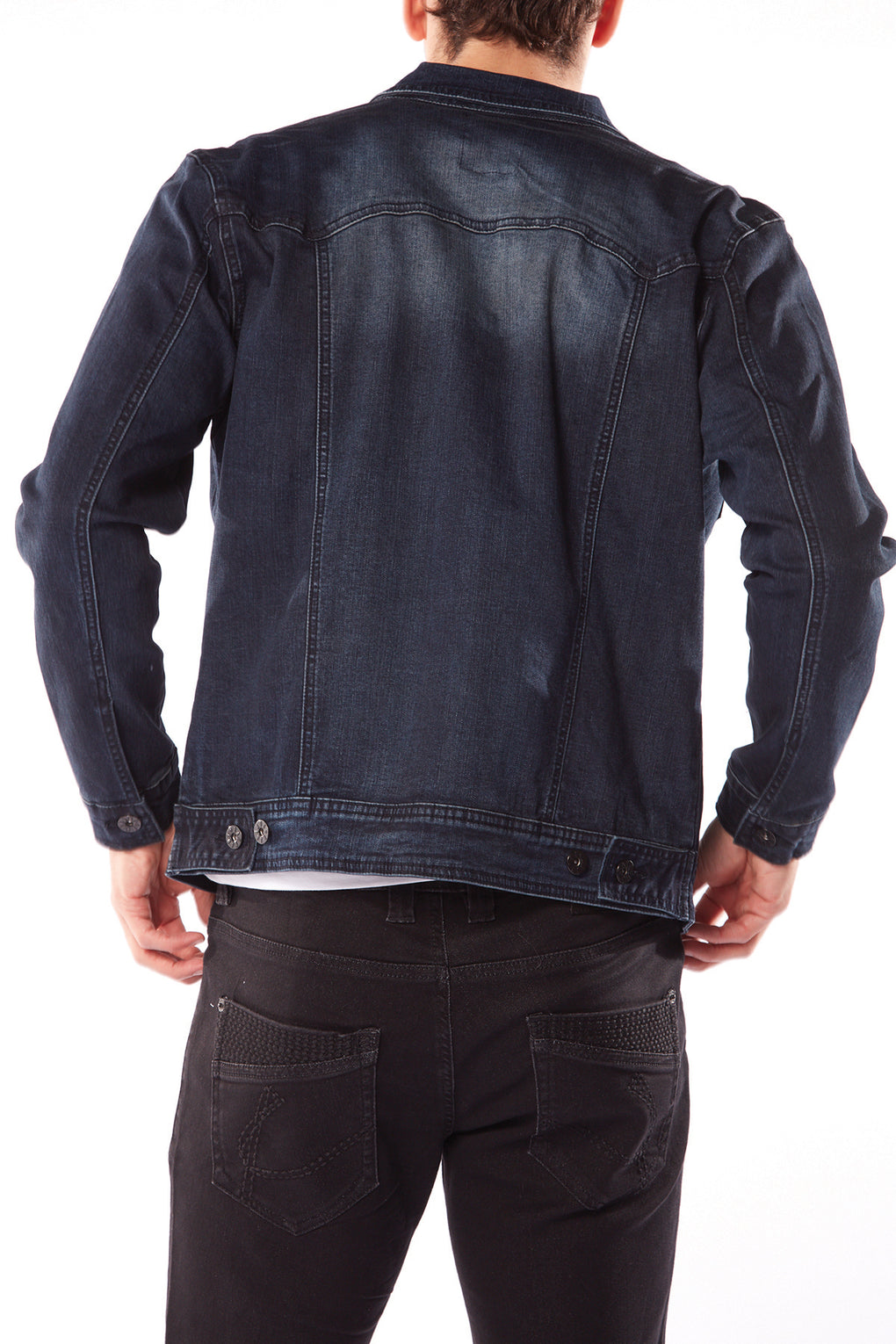 Mens Denim Jacket (BH-7155-PRW)