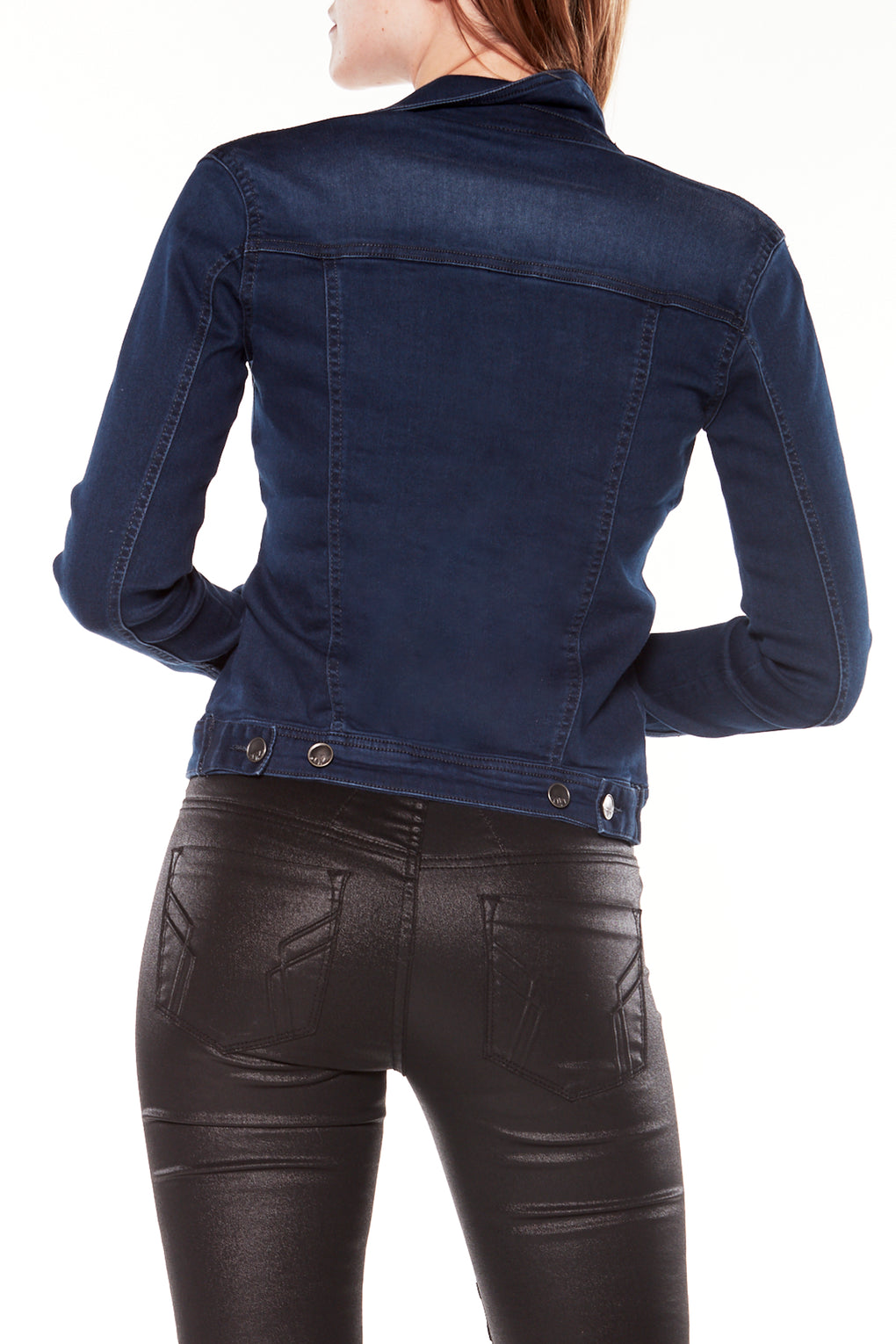 FARRAH - Denim Trucker Jacket (FX-FARRAH-KML)