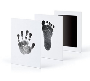 The Baby Footprint/Handprint Kit for Memories - 6 Colors