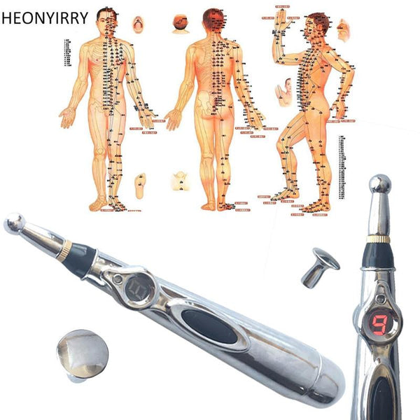 Acupuncture Skin Care Magnet Laser Vibration Device *FDA Approved*