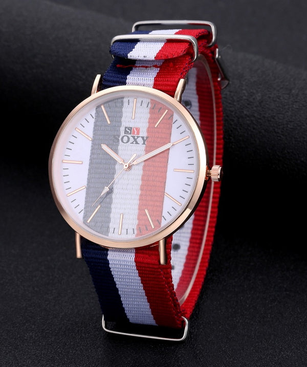 Unisex Special Lovers' Watch Nylon France