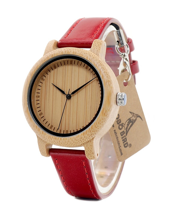 Bamboo Women Watch