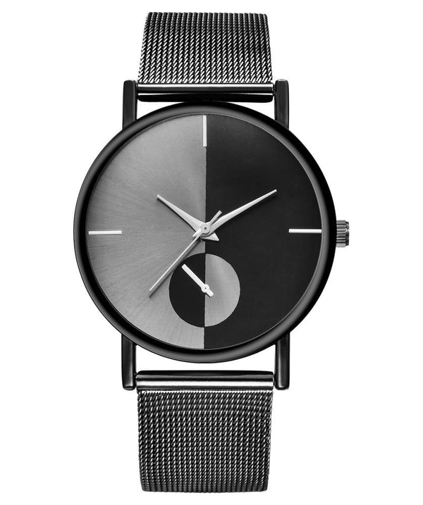 Double Analog Fashion Women Watch