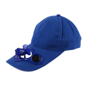 Women and Men Solar Powered Baseball SelfCooling Cap