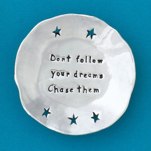 Follow Dreams Charm Bowl