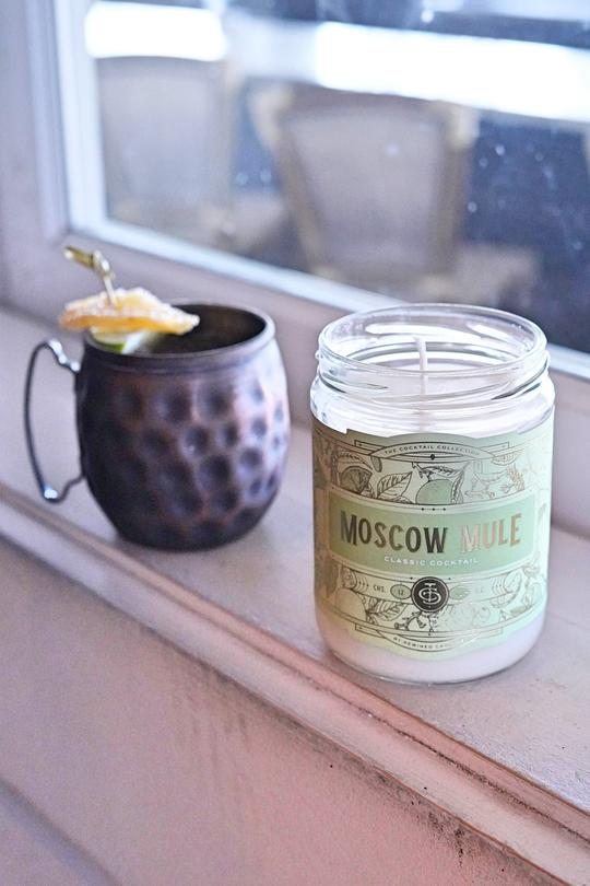 Ginger Mule Candle