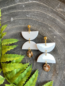 Apollo Drop Earrings - Flores Made Co.