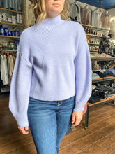 Load image into Gallery viewer, Raya Lavender Sweater