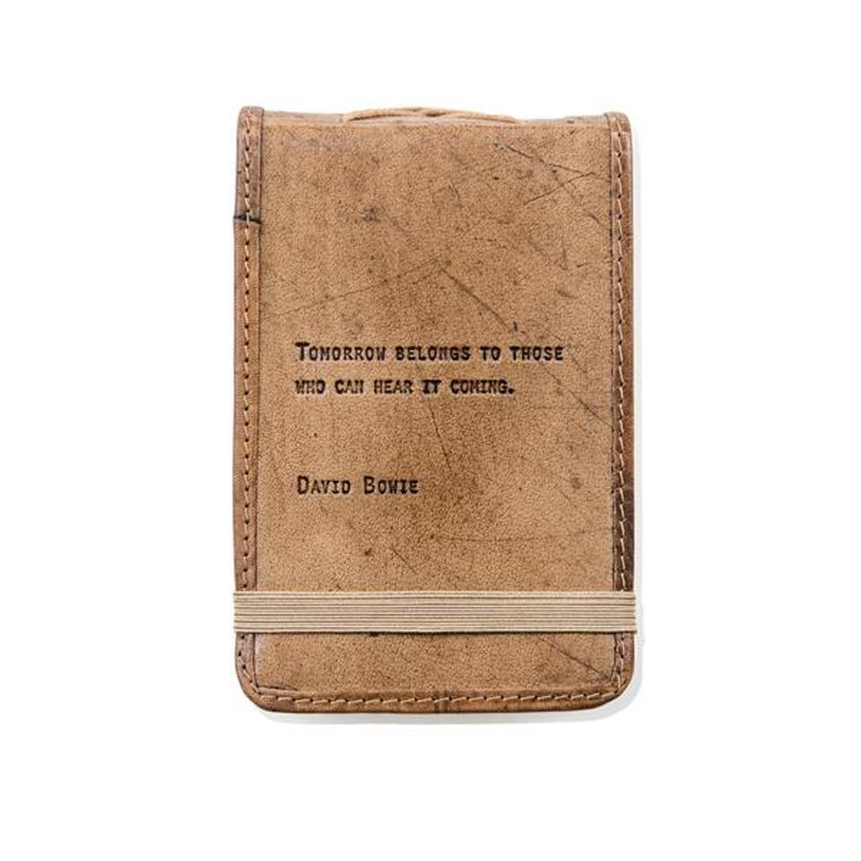 Mini Leather Journal - David Bowie