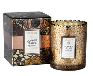 Copper Clove Boxed Candle
