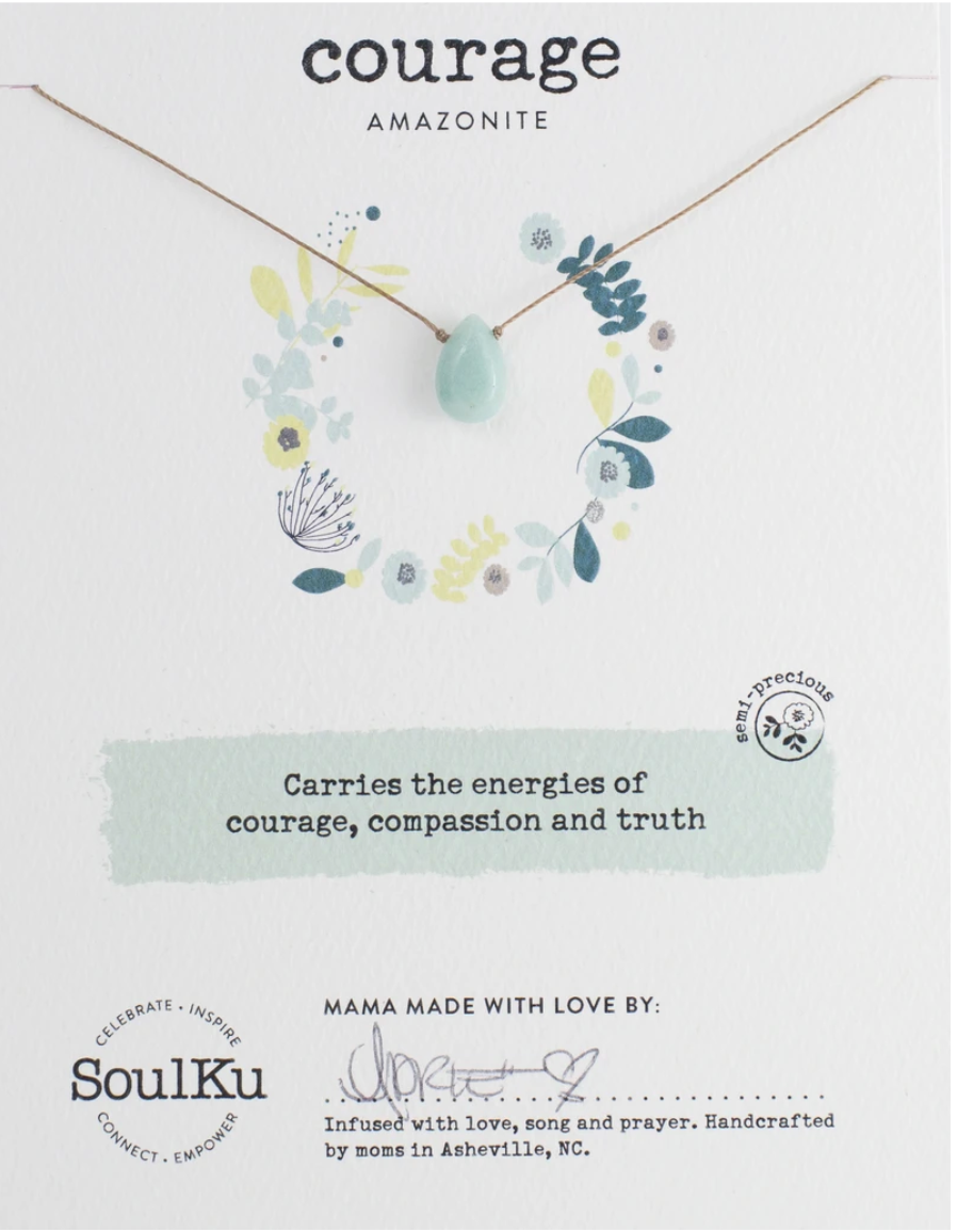 Soul Full of Light Necklace - Amazonite
