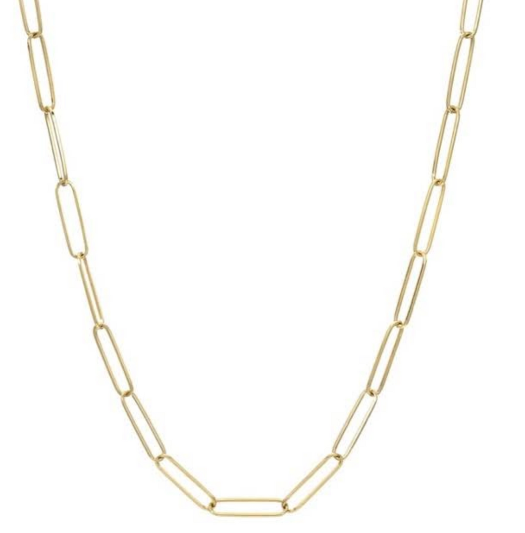 Chain Link Necklace - 18