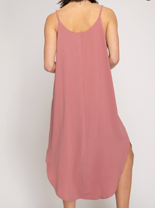 Dusty Rose Dress