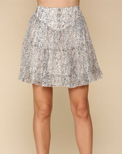 Load image into Gallery viewer, Floral High Waisted Skirt