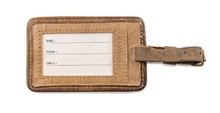 Load image into Gallery viewer, Leather Luggage Tag - Jack Kerouac