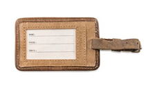 Load image into Gallery viewer, Leather Luggage Tag - Mary Poppins