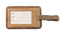 Load image into Gallery viewer, Leather Luggage Tag - Peter Pan