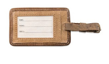 Load image into Gallery viewer, Leather Luggage Tag - Alexandra Elle