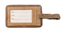Load image into Gallery viewer, Leather Luggage Tag - Susan Sontag