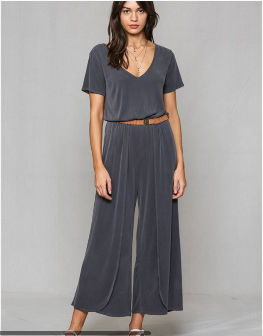 Modal Washed Jumpsuit