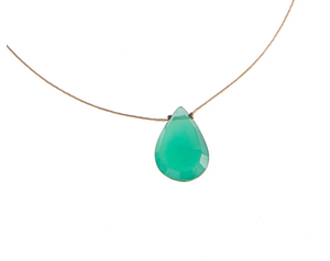 Green Onyx Luxe Necklace - Bereavement