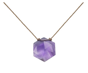 Sacred Necklace - Amethyst