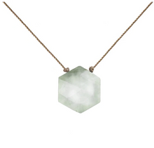 Load image into Gallery viewer, Sacred Necklace - Sea Foam Quartz