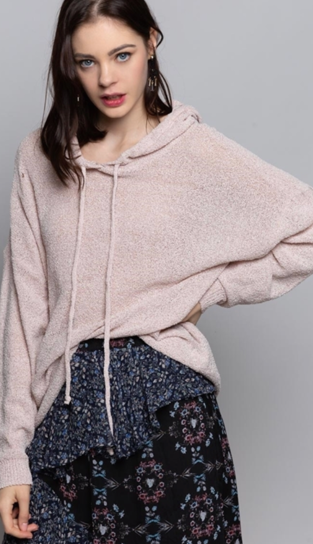 Boardwalk Hoodie - Dusty Rose