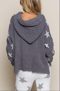 Copy of Cloud Nine Dazzling Star Hoodie - Grey