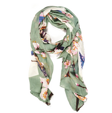 Load image into Gallery viewer, Blossom & Birds Scarf