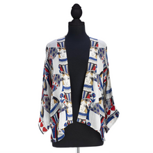 Load image into Gallery viewer, Queen of Hearts Short Kimono