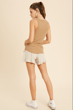 Load image into Gallery viewer, Ribbed Tank - Caramel