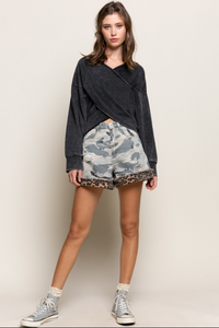 Black Stone French Terry Sweatshirt