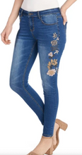 Load image into Gallery viewer, Floral Jeans