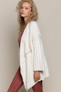 Popcorn Cardigan Sweater